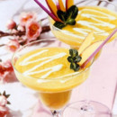 Menu Saint-Valentin : le cocktail de mangue