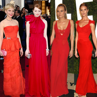 Oscars 2012 red fever
