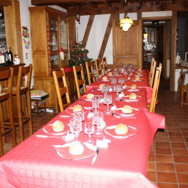 Table jour de Noël