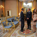 Rencontre Barack Obama Michelle Obama Prince William et Kate Middleton Duchesse de Cambridge