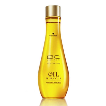 Oil Miracle Hairtherapy BC Bonacure à l'huile d'argan, Schwarzkopf (100ml, 18,20€)