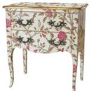 Commode poudreuse Louis XV - Moissonnier