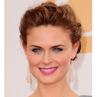 Emily Deschanel lors des Emmy Awards 2013 le 22 septembre à Los Angeles