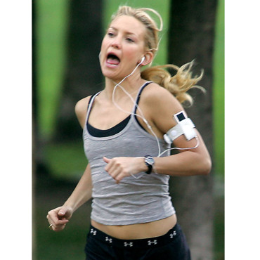 Kate Hudson avec son iPod