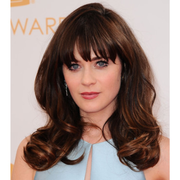 Zooey Deschanel lors des Emmy Awards 2013 le 22 septembre à Los Angeles