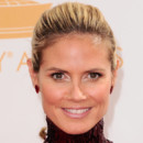 Heidi Klum lors des Emmy Awards 2013 le 22 septembre à Los Angeles