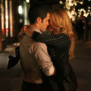 Blake Lively et Penn Badgley dans Gossip Girl