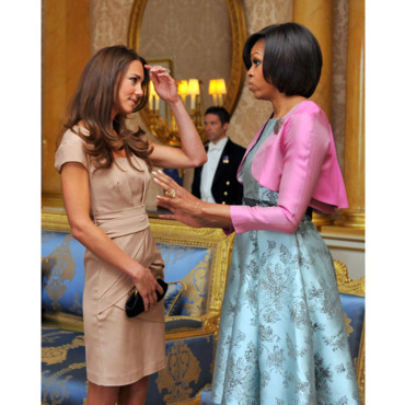 Rencontre Michelle Obama et Kate Middleton Duchesse de Cambridge
