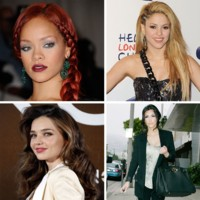 Shakira, Rihanna, Kim Kardashian... ces stars qui posent  moiti nues sur les rseaux sociaux