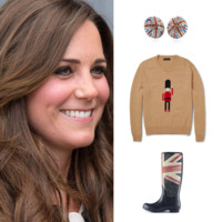 Shopping spécial London en l'honneur du royal baby boy de Kate Middleton