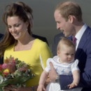 Kate Middleton, le prince William et le prince George en Australie le 16 avril 2014
