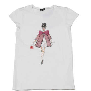 T-shirt imprimé femme manteaux rose Best Mountain 24 euros