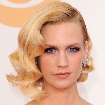 January Jones lors des Emmy Awards 2013 le 22 septembre à Los Angeles