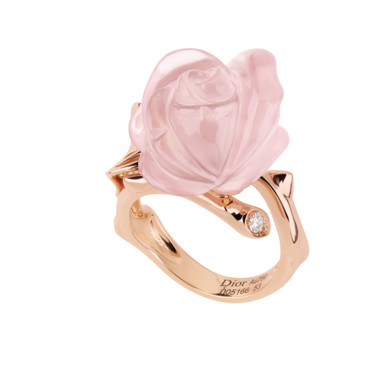 Bague Dior en or rose