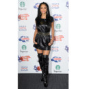 Nicole Scherzinger en robe en cuir au Capital FM Summertine Ball