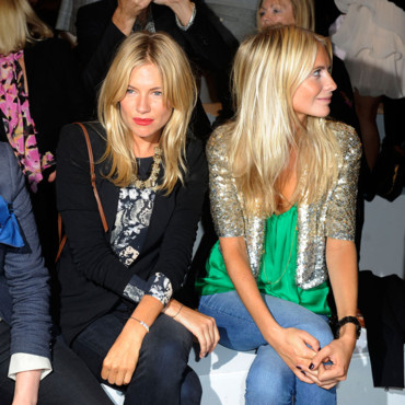 Sienna Miller Fashion Week