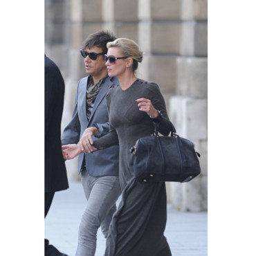 Star et son sac - Kate Moss