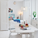 Appartement shabby chic et scandinave Bel Lighting