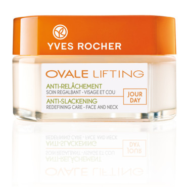 Yves Rocher soins visage anti-rides Ovale Lifting