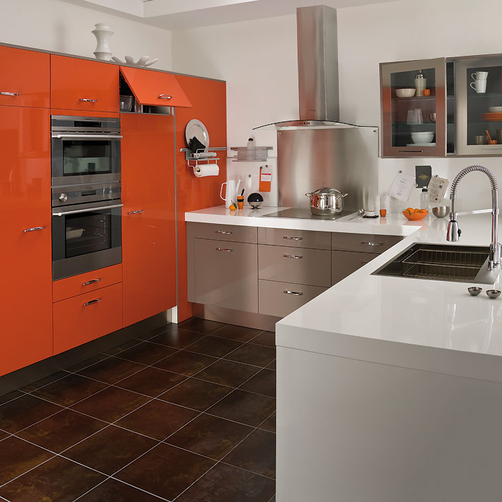 cuisines lapeyre d couvrez les tendances cuisine 2011 cuisine twist orange cannelle lapeyre. Black Bedroom Furniture Sets. Home Design Ideas