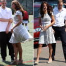 Kate Middleton et sa robe à 35 £