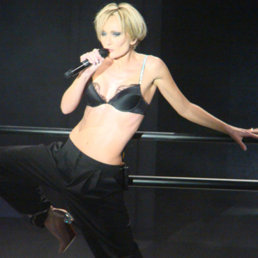 Patricia Kaas maquillée par Make Up For Ever