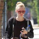 Amanda Seyfried dans les rues de West Hollywood le mardi 2 avril