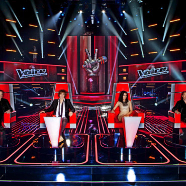 The Voice - Emission 1 du 25 février - Quatre coachs de The Voice la plus belle voix : Jenifer, Garou, Louis Bertignac, Florent Pagny
