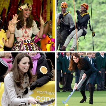 Montage Kate Middleton