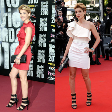 Cannes 2010 Clotilde Courau montage