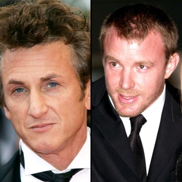 Sean Penn et Guy Ritchie