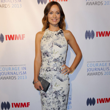 Olivia Wilde pour les IWMF Courage in Journalism Awards à LA le 29 octobre 2013
