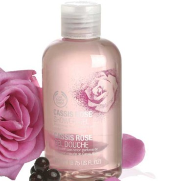 gel douche cassis rose The Body Shop