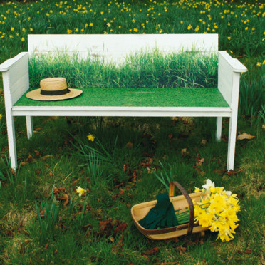 Banc Indian Garden Company Wildgrass bench - Objet Déco - Déco