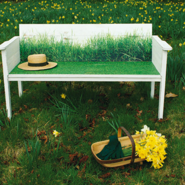 Banc Indian Garden Company Wildgrass bench