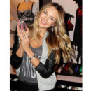 Candice Swanepoel lors de la présentation de la collection Holiday 2012 de Victoria's Secret à New York