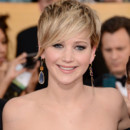 Jennifer Lawrence aux SAG Awards le 19 janvier 2014