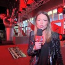 Visite du plateau de The Voice par Virginie.