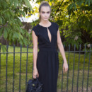 Cara Delevingne à la Serpentine Gallery Summer Party à Hyde Park à Londres, le 1e juillet 2014.