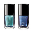 Vernis Chanel Azuré et Bleu Argus à 22,50 euros