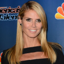 "Heidi Klum au Post-Show des ""America's Got Talent"" à New York le 10 Septembre 2014."