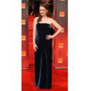 Julianne Moore en robe de velours longue