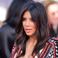 Kim Kardashian aux MTV Video Music Awards à Los Angeles le 24 août 2014
