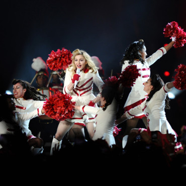 Madonna en concert  Istanbul dans le cadre de son &quot;MDNA World Tour&quot; le 7 juin 2012