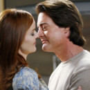 Marcia Cross et Kyle MacLachlan dans Desperate Housewives