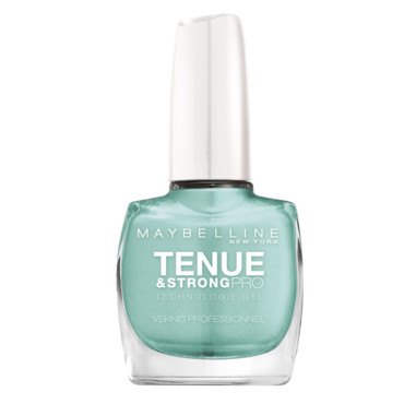 Vernis Tenue & strong pro Gemey Maybelline Mint for life