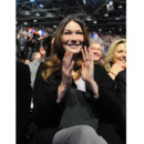 Carla Bruni Sarkozy en meeting en avril