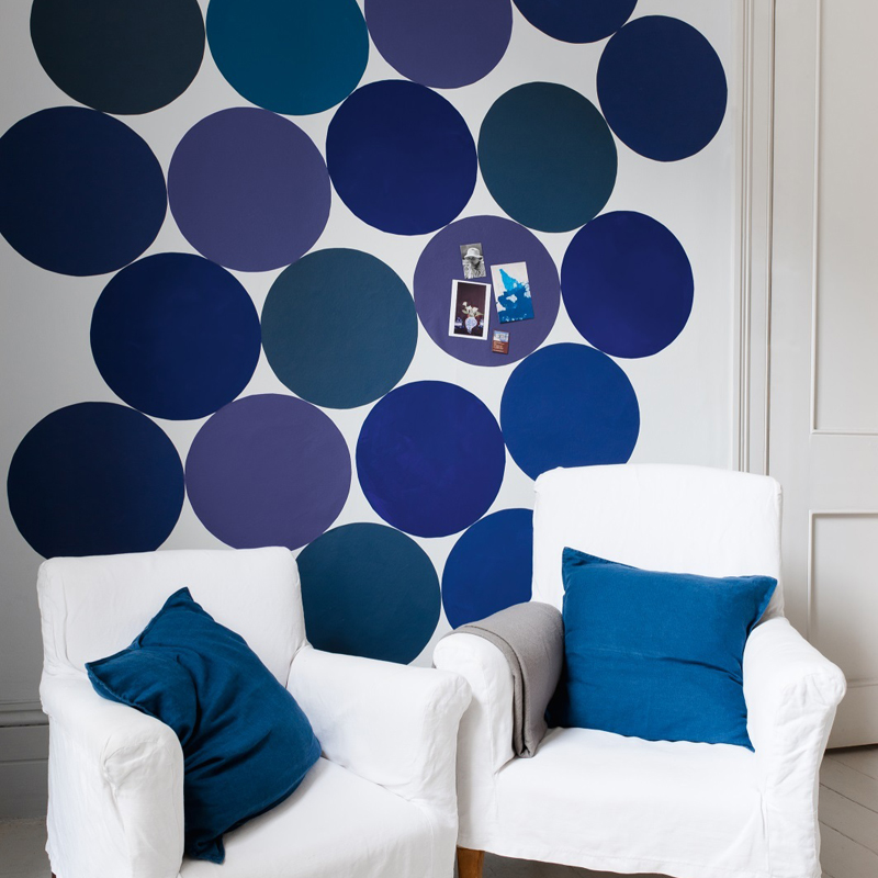 peinture dulux valentine 30 ambiances color es adopter en 2013 harmonie de bleu dulux. Black Bedroom Furniture Sets. Home Design Ideas