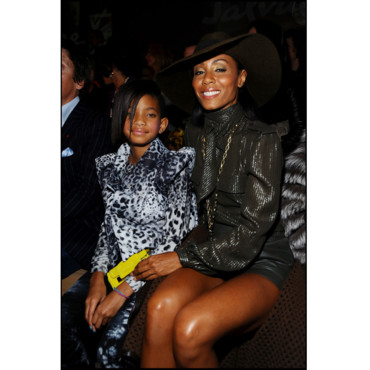 Jada Pinkett Smith et Willow au défilé Ferragamo