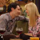 Paul Rudd et Lisa Kudrow dans Friends